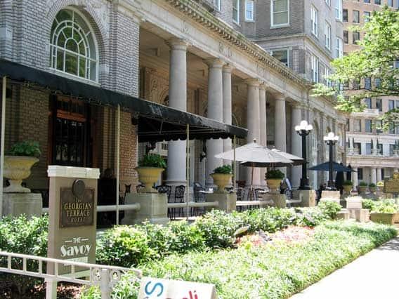 With Scarlett and Rhett in Atlanta, Historic Hotel  Celebrates its 100th year