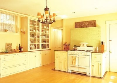 The Yellow Kitchen