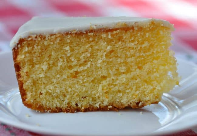 Greek Orange Cake Pantespani