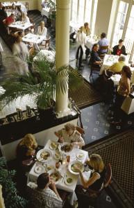 Elegant dining at Lakeland's Terrace Grille.