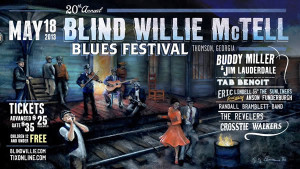 One of the country's top outdoor music events, The Blind Willie McTell Blues Festival honored the native of Thomson, Georgia with songs and genuine Georgia barbecue.