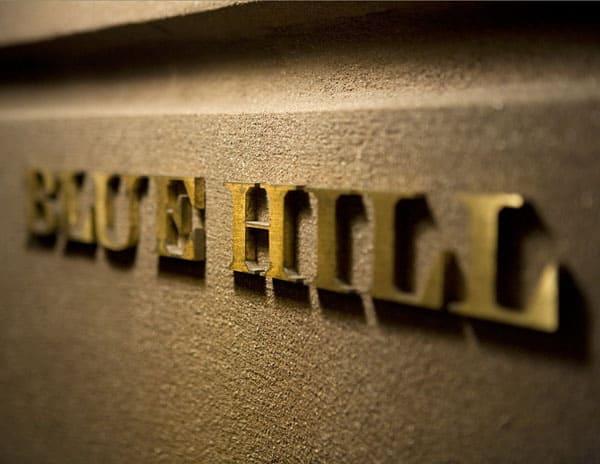 Blue Hill New York Sign Jen Munkvold- Photographer